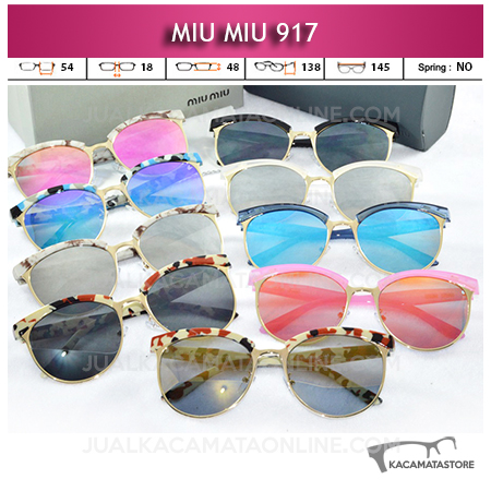 Jual Kacamata Miu Miu 917 Terbaru