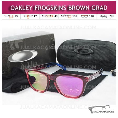 Jual Kacamata Oakley Frogskins Brown Gradasi