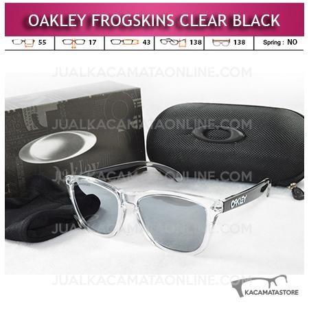 Jual Kacamata Oakley Frogskins Clear Black