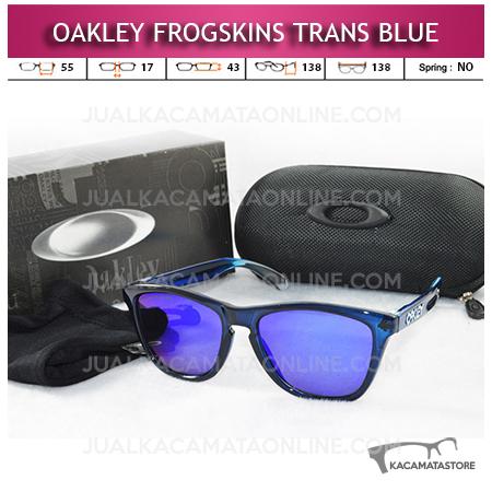 Jual Kacamata Oakley Frogskins Trans Blue