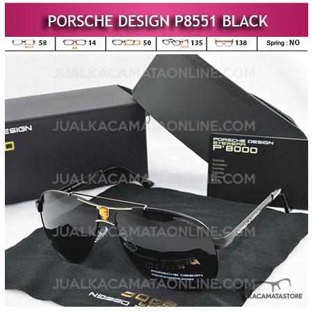 Model Kacamata Porsche Design P8551 Black