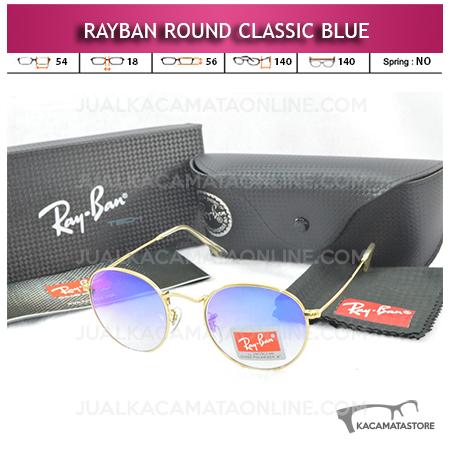 Kacamata Rayban Round Classic Blue