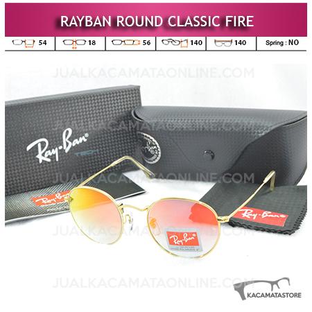 Kacamata Rayban Round Classic Fire