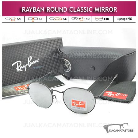 Kacamata Rayban Round Classic Mirror