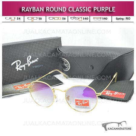 Kacamata Rayban Round Classic Purple