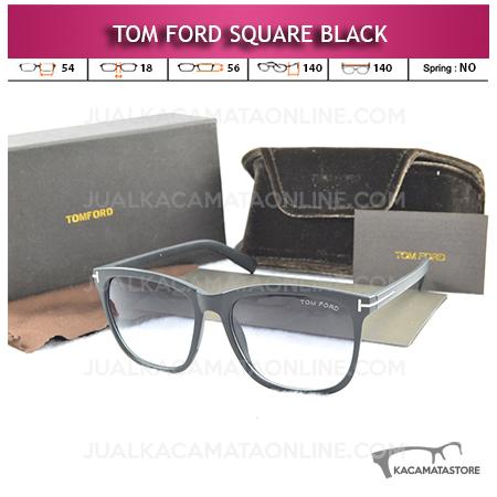 Jual Kacamata Tom Ford Square Black