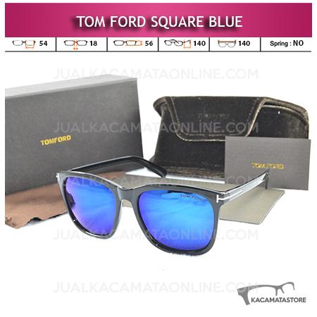 Jual Kacamata Artis Tom Ford Square Blue
