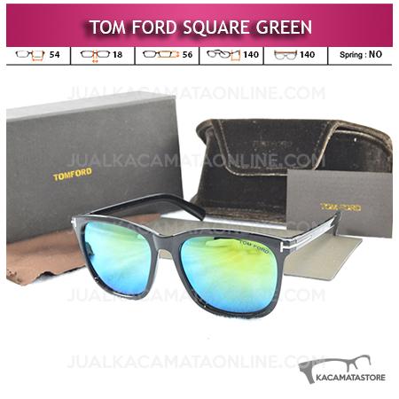 Jual Kacamata Artis Tom Ford Square Green
