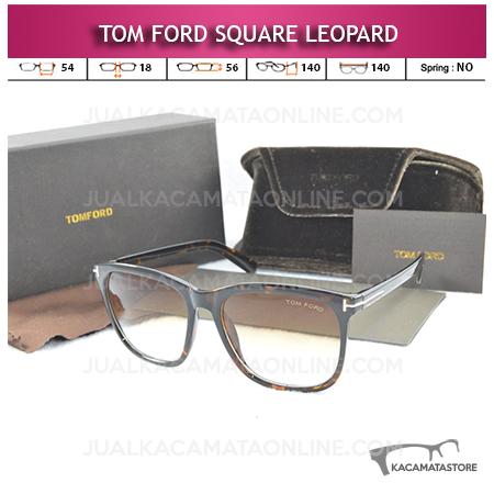 Jual Kacamata Artis Tom Ford Square Leopard