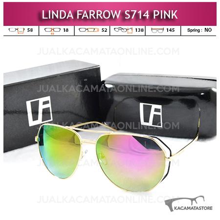 Model Kacamata Artis Linda Farrow S714 Pink