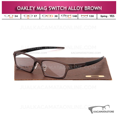 Frame Kacamata Oakley Mag Switch Brown