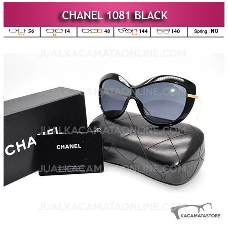 Jual Kacamata Artis Chanel 1081 Black