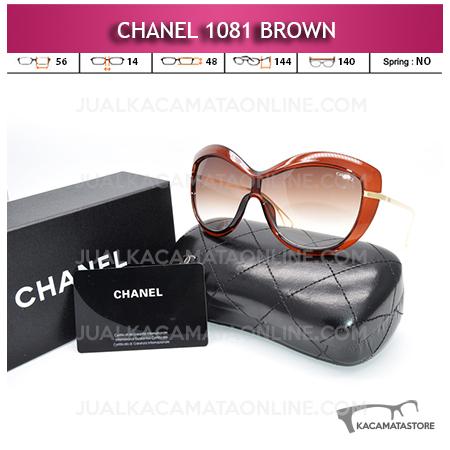 Jual Kacamata Artis Terbaru Chanel 1081 Brown