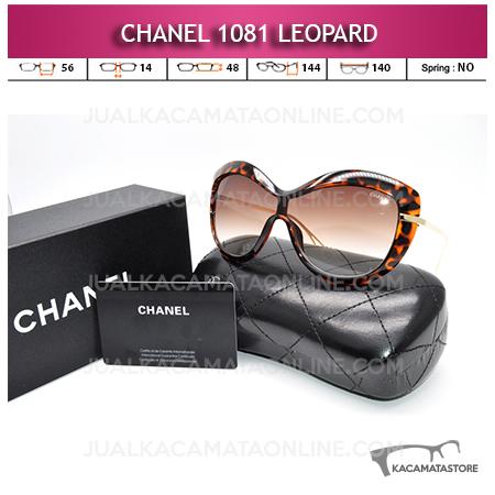 Jual Kacamata Artis Chanel 1081 Leopard