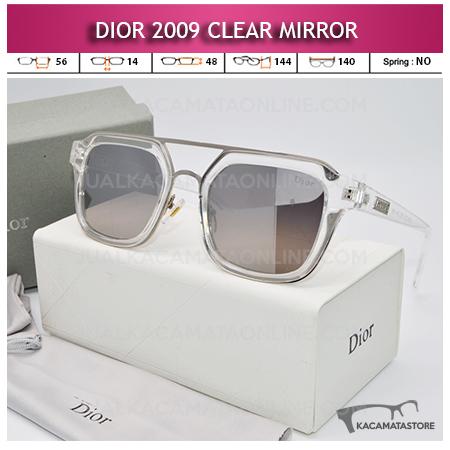 Model Kacamata Artis Dior 2009 Clear Mirror