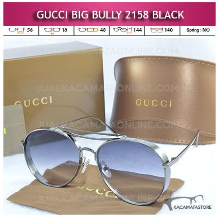 Grosir Kacamata Artis Gucci Big Bully 2158 Black