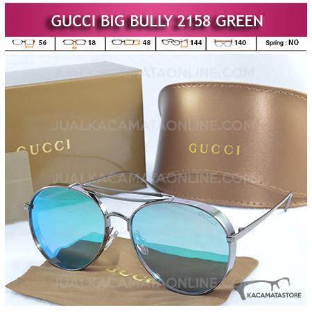 Jual Kacamata Artis Terbaru Gucci Big Bully 2158 Green