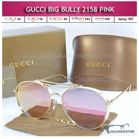 Jual Kacamata Artis Terbaru Gucci Big Bully 2158 Pink