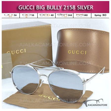 Kacamata Artis Gucci Big Bully 2158 Silver