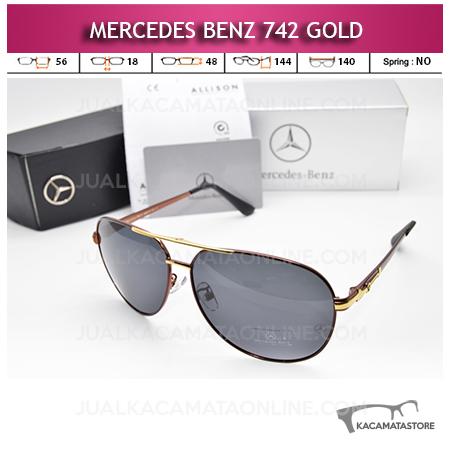 Harga Kacamata Mercedes Benz 742 Gold Kacamata Pria Terbaru