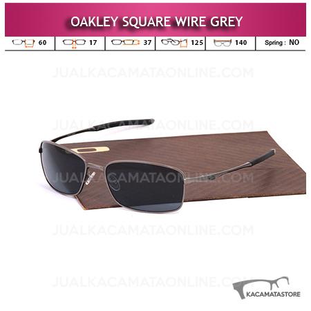 Kacamata Oakley Square Wire Grey