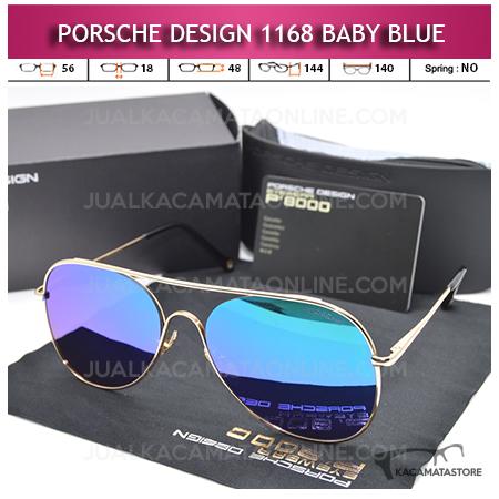 Jual Kacamata Porsche Design 1168 Baby Blue Polarized