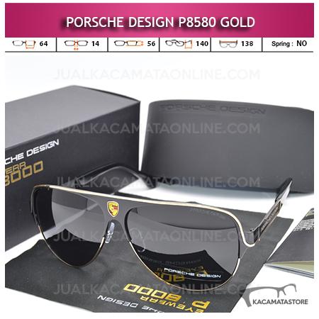 Model Kacamata Porsche Design P8580 Gold