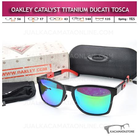Jual Kacamata Oakley Catalyst Titanium Ducati Tosca