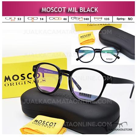Jual Frame Kacamata Baca Moscot Mil Black