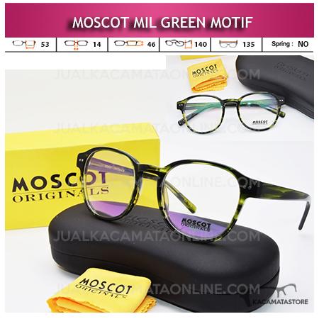 Jual Frame Kacamata Moscot Mil Green