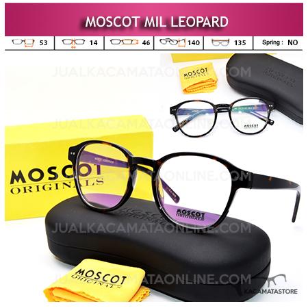 Frame Kacamata Baca Moscot Mil Leopard