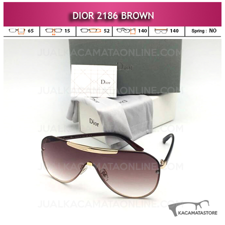 Grosir Kacamata Artis Dior 2186 Brown