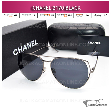 Jual Kacamata Artis Chanel 2170 Black