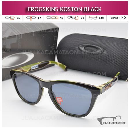 Jual Kacamata Oakley Frogskins Koston Series Black