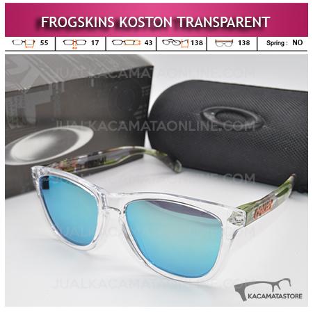 Kacamata Oakley Frogskins Koston Series Transparent
