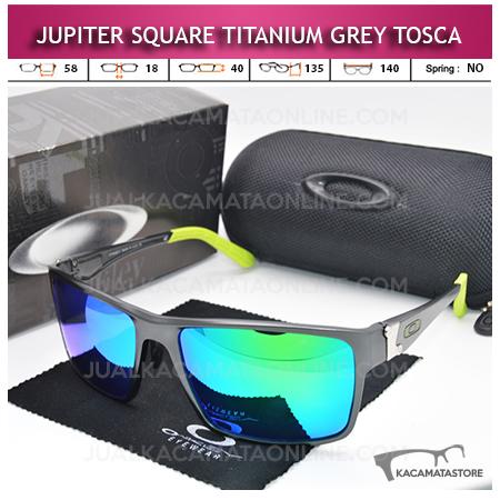 Grosir Kacamata Oakley Jupiter Square Titanium Grey Tosca