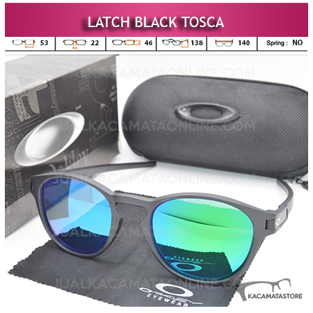 Toko Kacamata Polarized Oakley Latch Black Tosca