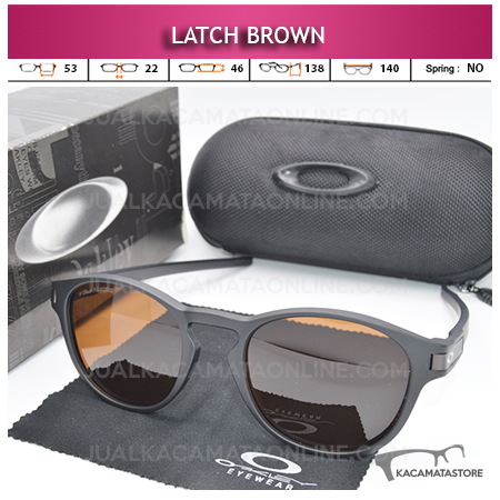 Grosir Kacamata Polarized Oakley Latch Brown