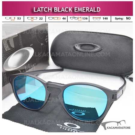 Model Kacamata Polarized Oakley Latch Emerald