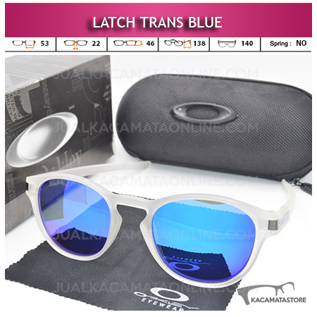 Harga Kacamata Polarized Oakley Latch Trans Blue