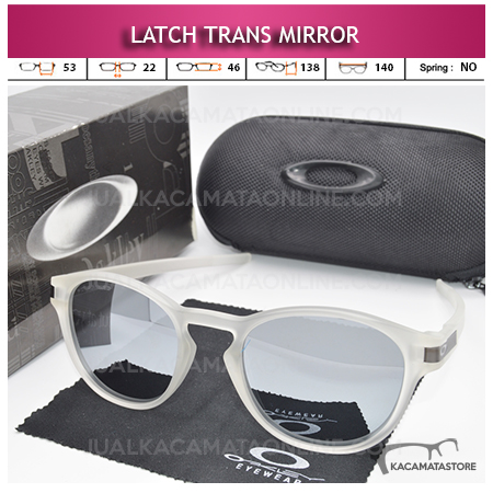 Jual Kacamata Polarized Oakley Latch Trans Mirror