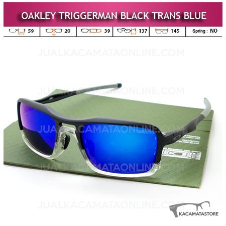 Harga Kacamata Oakley Terbaru Trigerman Black Trans Blue