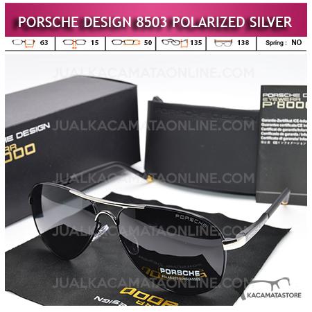 Jual Kacamata Polarized Porsche Design P8503 Silver