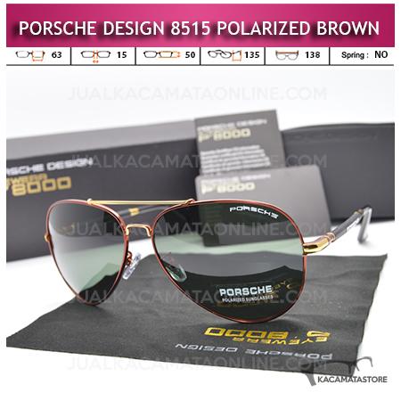 Harga Kacamata Polarized Porsche Design P8515 Brown