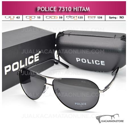 Jual Kacamata Police Terbaru 7310 Polarized Black