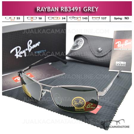 Kacamata Rayban Rb3491 Diamond Grey