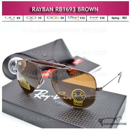 Harga Kacamata Rayban Rb1693 Diamond Brown