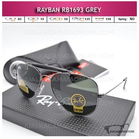 Jual Kacamata Rayban Rb1693 Diamond Grey
