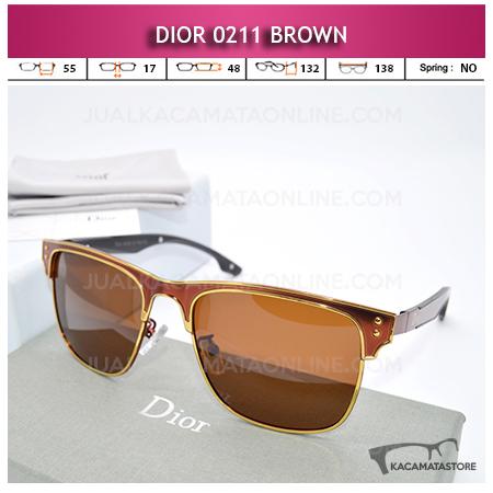 Harga Kacamata Wanita Dior 0211 Brown Model Kacamata Artis Terbaru