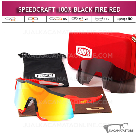 Jual Kacamata Sport Speedcraft Black Fire Red